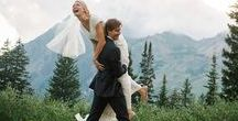Mountaintop Bride / For the bride that loves the great outdoors!