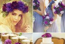 Purple Color Weddings