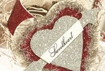 Valentine DIY Inspiration / Cards, Valentines, pretty hearts