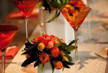 Orange Color Weddings