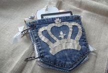 Blue Jean Crafts...DIY / Upcycling at its best