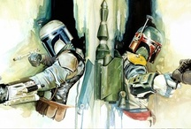 Star Wars / Boba Fett Art / by Pic War