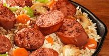 Sausage So Simple / Introducing Sausage So Simple—delicious and simple sausage recipes, cooking inspiration, and more. #SoSimple