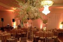 Sandalwood & White  / Inspiration for a sandalwood, white and gold reception held at Waterford.