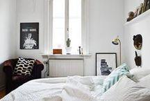 Calming Vintage Bedrooms