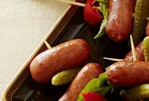 #MakeTheParty- Viewing Party / Nothing goes better with your favorite show than your favorite snack, so liven up your next viewing party with Lit'l Smokies Smoked Sausages!