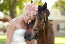horse themed weddings / #wedding #ideas for #horse #lovers.