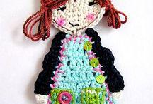 dolls / by Lilla