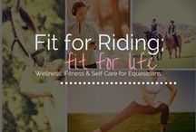 Horseback rider exercises / Exercises for staying in shape for you horse crazy lifestyle.