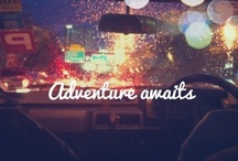 Adventure Awaits! :) / Places to go and things to see :) / by Lacey Love