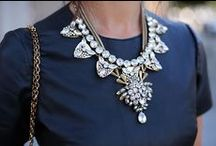 STYLE | bling / I have too many earrings and not enough necklaces...  I will work on that / by Em A