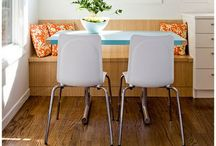 Kitchen Banquettes { Benches } / Kitchen banquettes!  / by Dionne Trifiro