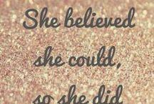 I Love Quotes / by Vicki Whitely