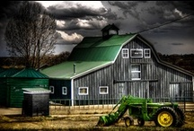 Barns, Barns and more Barns / I harken back to the country roots that I never got blessed with but long to have. / by Sharon Cumings