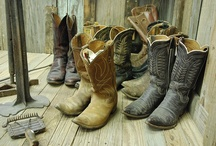 Boot Scootin' Love / I am just fixated on cowboy boots and Victorian shoes, don't know why I just like them!! / by Sharon Cumings