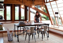 Home Office Inspiration / A collection of spaces which make working at home inspirational!  / by Dionne Trifiro