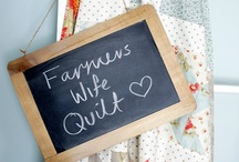 Quilts: Farmer's wife quilt / Some of my favorite blocks from the Farmer's Wife Quilt books.