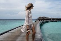 Resort Wear / The most classic resort wear for all luxury vacations, travel, and globetrotting .