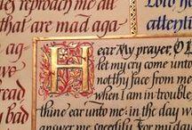 Calligraphic Prayer / Maria Helena, New Orleans Calligraphy Art