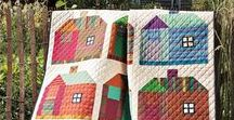 Quilts: Houses