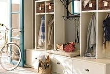 Mud Room Inspiration / All things mudrooms / by Beth Hunter