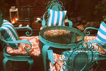 Tangerine & Turquoise / by party + paper + presents P³