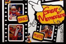 Disney / Disney Scrapbook pages / by Paula Lewis