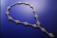 Jessica V. Burnett Hand Woven Chain Jewelry / www.jessicavburnett.com