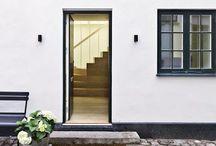entrance + exterior