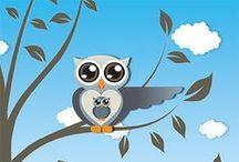 Geboortekaartjes / Geboortekaartjes ontworpen door Miss Olive, zie www.missolive.nl / by Miss Olive