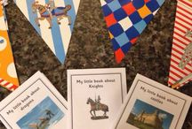 Castles, dragons and knights theme - EYFS / Ideas and resources  / by Tishylishy
