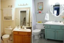 Bathrooms Before and After / by Home Stories A to Z