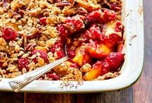 Cobbler, Crisp, and Crumble Recipes / Cobbler, Crisp, and Crumble recipes from the interwebs that I totally dig! Apple, cherry, blackberry, blueberry, peach, mixed berry, and more. These pins are sure to satisfy all your Cobbler, Crisp, and Crumble cravings!
