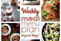 Weekly Meal Planning / Meal Planning, Menu Planning and Recipes that will rock your Weekly Meal Plan.