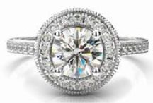 Beautiful halo engagment rings