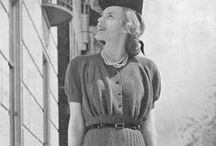 Thirties Originals / Original clothing from the 1930s from our own website and friends in the vintage community.