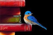 Books, Authors ~To Kill a Mockinོgbird  / Books, novels, classic reading, authors A room without a book is like a body without a soul. ...... Mockingbirds don't do one thing but make music for us to enjoy. They don't eat up people's gardens, don't nest in corncribs, they don't do one thing but sing their hearts out for us. That's why it's a sin to kill a mockingbird. ~ Harper Lee ........  To Kill a Mockingbird Miss Maudie Atkinson to Scout, Chapter 10.