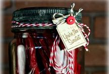 GIFT-GIVING (JARS) / by Sally Kelly @DrinkingFromMySaucer