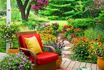 Garden Flowers and Yard / by Connie Bonk