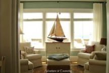 BEACH HOUSE / Decorating ideas with a beach theme. / by Sally Kelly @DrinkingFromMySaucer