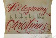 CHRISTMAS/WINTER DECOR / Ideas for decorating at Christmas-time. / by Sally Kelly @DrinkingFromMySaucer