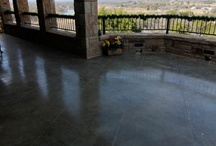 Decorative Concrete: Exterior  / A professionally acid-stained driveway, patio or walkway will improve your home's curb appeal more for the money spent than anything else you can do.