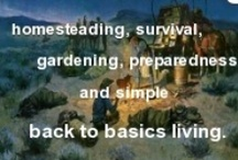 Readiness - hunter/gatherer/cooker liferstyle / by Senior Dean