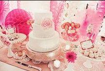 { Candy or Dessert Buffet Tables }