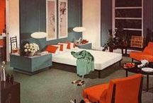 Decorating~Mostly Mid Century Modern/Retro/Googie~Atomic / by DaisyMoonbeam