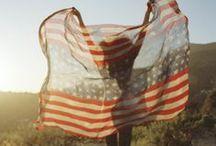 Eaོgle ༽ Americana / Red, white and Blues, america, 4th of July, Americana
