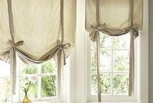 CURTAINS / Window treatments of anykind / by Jo Chandler