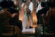 Mr. and Mrs. Berman / September 2015 1920s/Gatsby Inspired Champagne and Silver