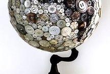 Buttons art / by Jo Chandler