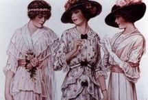 1880-1915. Fashion. / Fashion from 1880 to 1915'ish